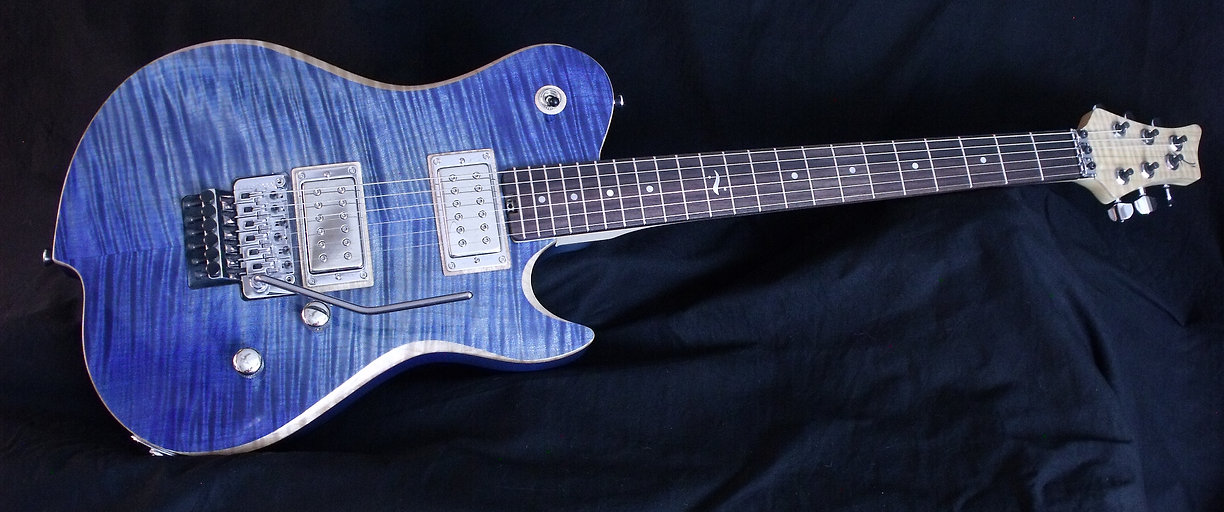 Custom made Artisan guitar