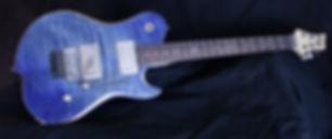 Custom made Artisan guitar