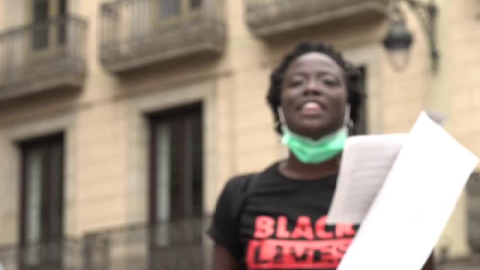 Black Lives Matter BCN