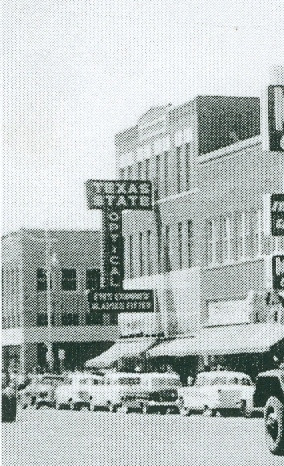 Texas State Optical 926 Indiana Ave. 1950's