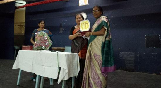 Farewell to Mrs. Mamata Mullick Teacher