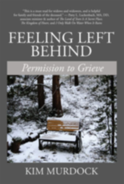 Grief book, Feeling Left Behind, for widows and widowers