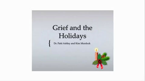 Grief during the holidays