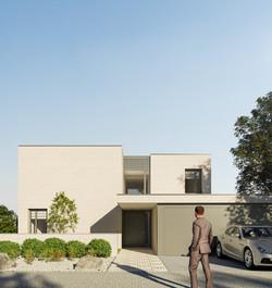 Visualisierung-Einfamilienhaus