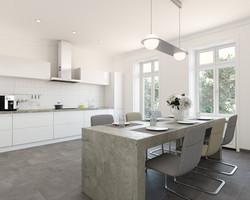 Sanierungsstandard-Küche