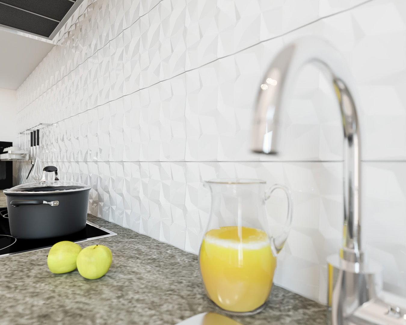 Sanierungsstandard-Küche-Detail