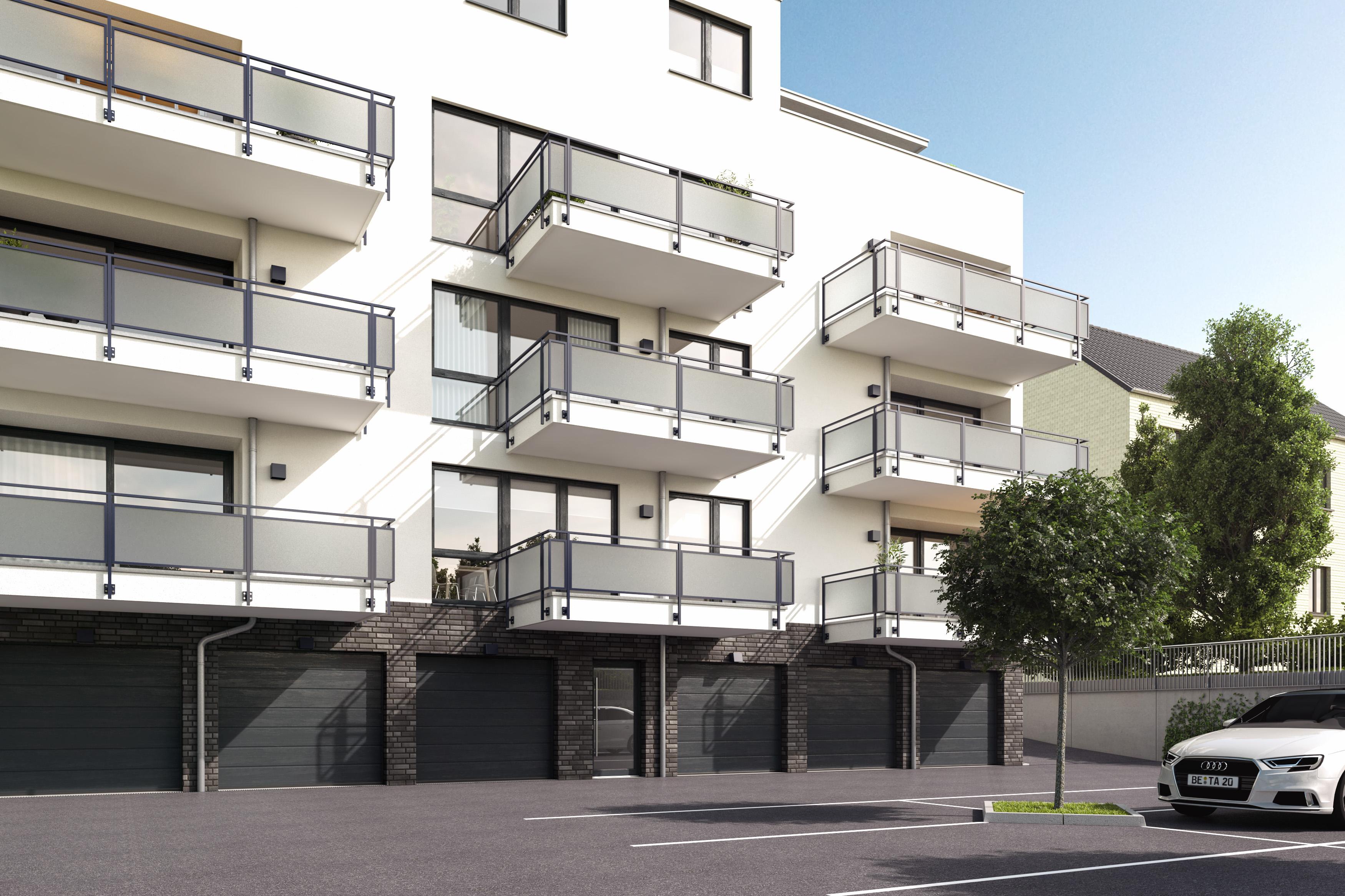 Architekturvisualisierung-ETW-Anlage-Garagenhof