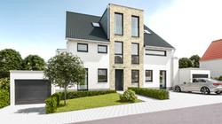 Architekturvisualisierung-Mehrfamilienhaus-vorne