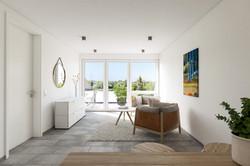 Architekturvisualisierung-ETW-Anlage-Innenraum-Wohnen