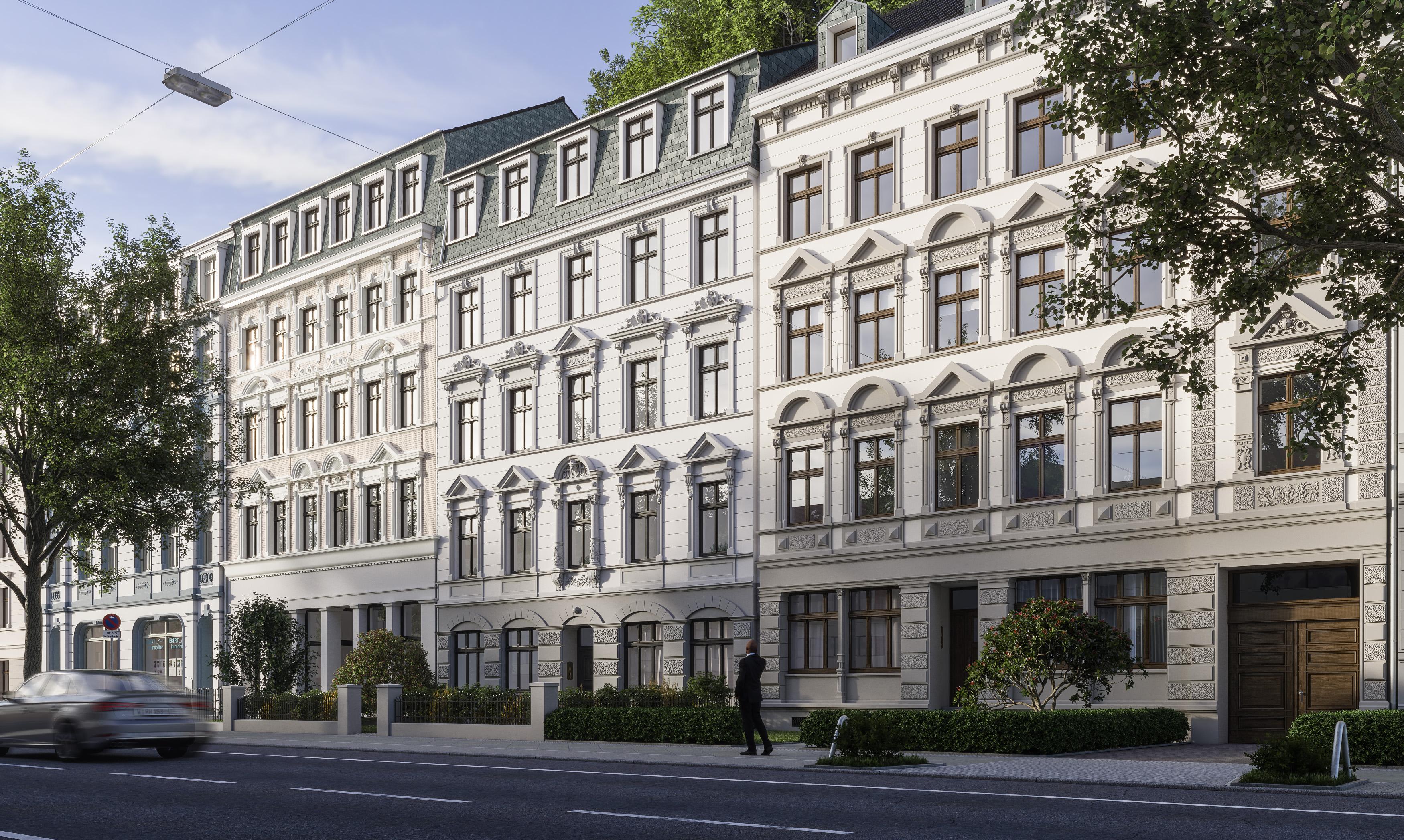 Fassadensanierung-Mehrfamilienhäuser