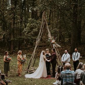 Kaila & Dave's Deer Creek Overlook Wedding