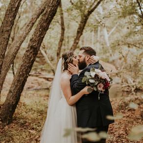 Kaylan & Matthew's Romantic Bohemian October Wedding at the Lodge at Little Seneca Creek