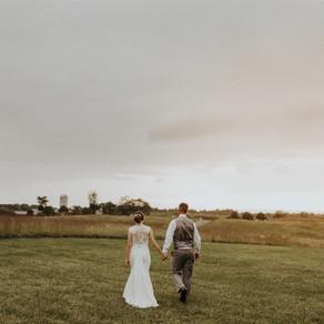 Nadia & Shane's September Intimate Wedding at the Goodstone Inn