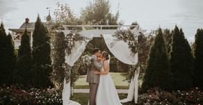 Kyler & Harlon's Antrim 1844 Wedding