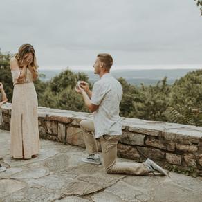 Jamie, Frank, & Riley: Sugarloaf Mountain Proposal