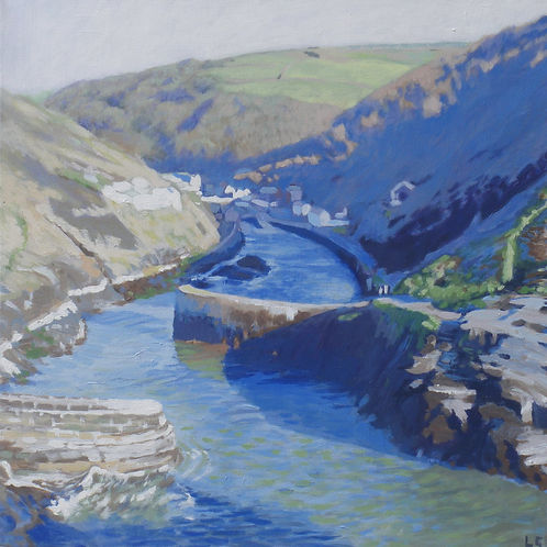 Boscastle from Penally Point