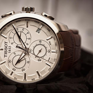 Tissot Product Photography