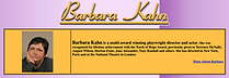 BARBARA KAHN REVIEW