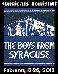 Boys From Syracuse