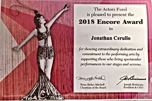 actors fund encore award