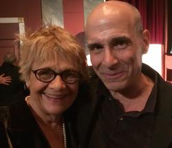 With Estelle Parsons
