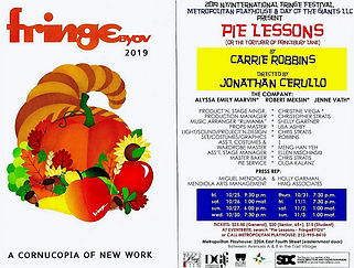 PIE LESSON PROGRAM