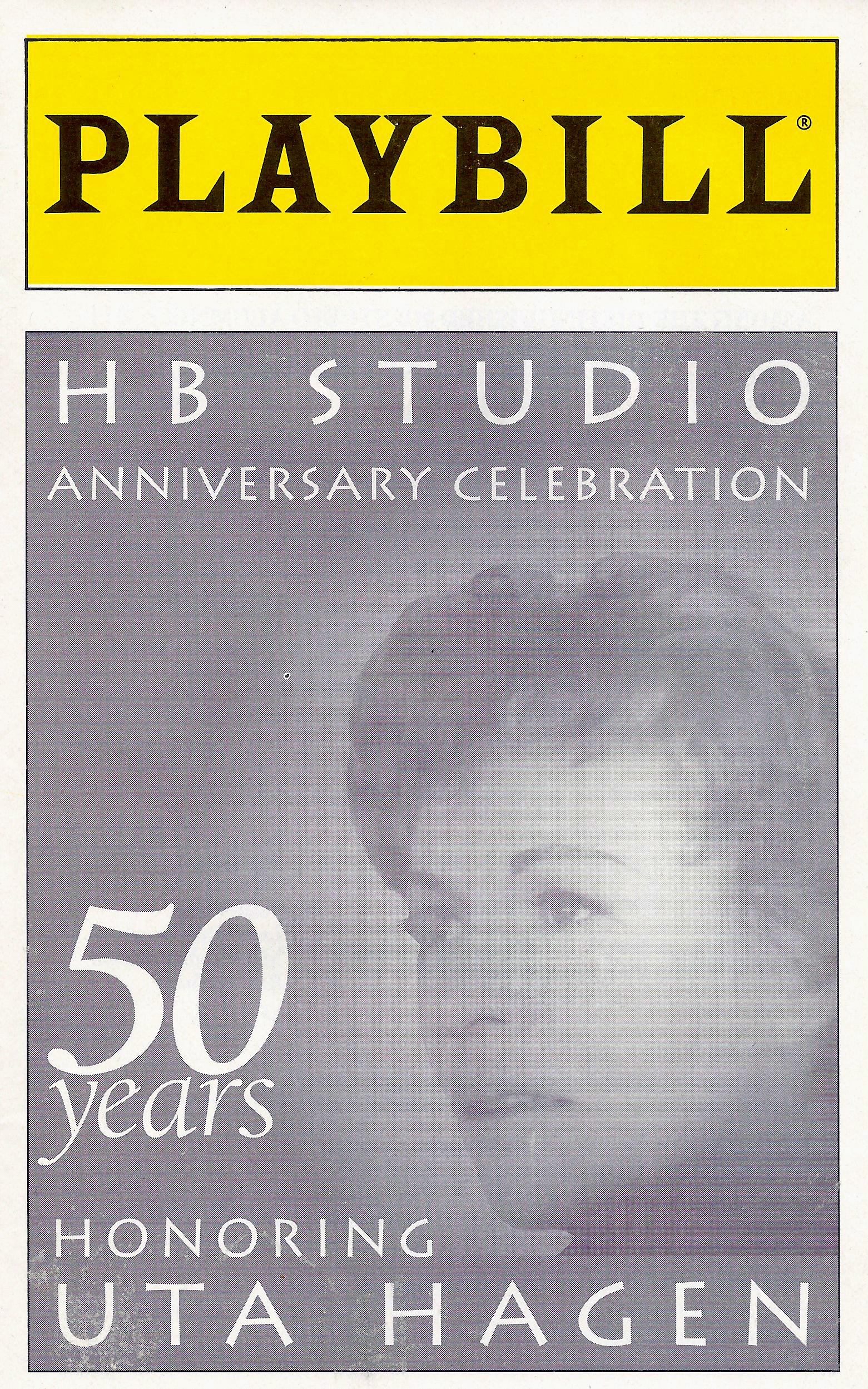 50 Years Honoring Uta Hagen