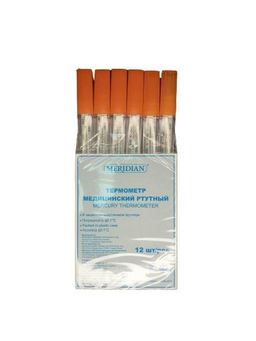 Термометр медицинский ртутный марки «MERIDIAN»