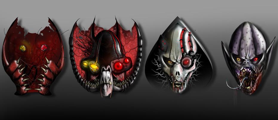 Space Dracula Concept Art