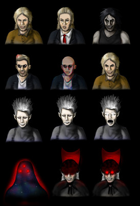 Various Boss Expressions