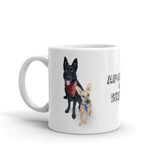 Apollo & Simba - Pup Mug