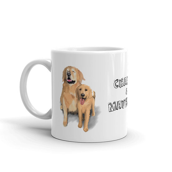 Charlie and Maverick - Pup Mug