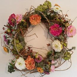 DIY Grapevine wreath