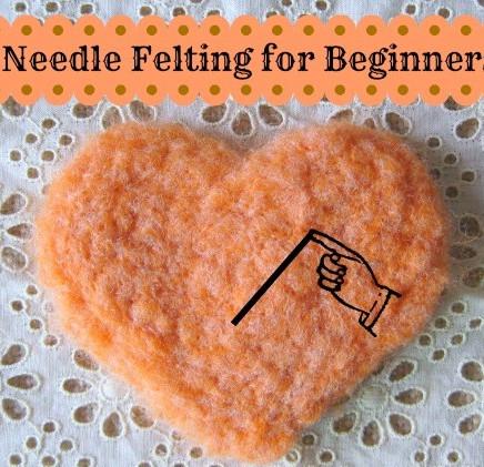 Learn how to Needle felt