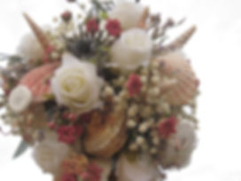 Seashell wedding bouquet DIY tutorial