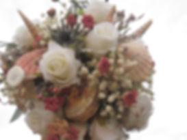 Shell bouquet, www.naturecrafty.com