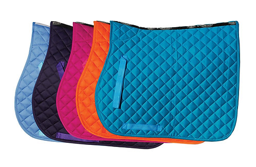 Cotton Quilted Saddle Pad