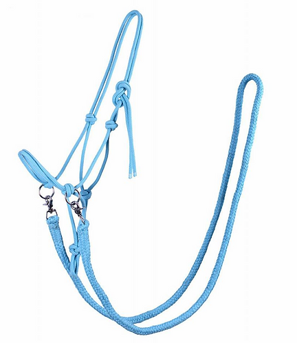 Rope Headcollar and Reins