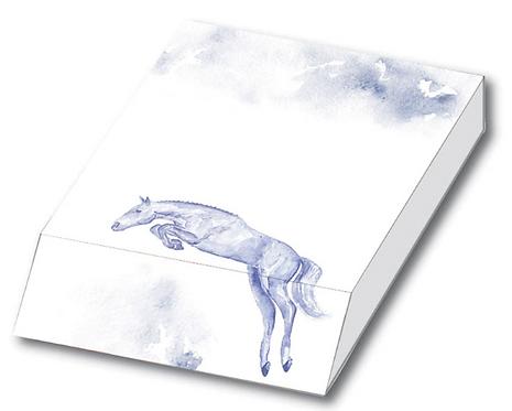 JP Equestrian Watercolour Collection Slant Pad