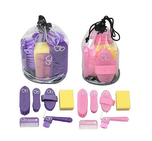 Sheldon Glitter Grooming Kit in Bag