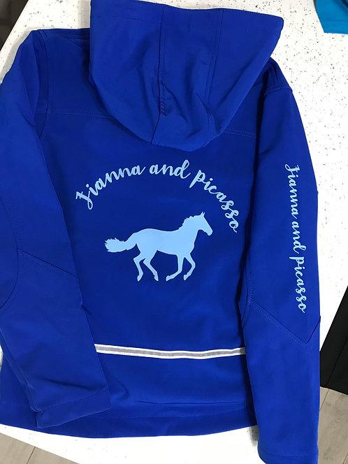 Kids Personalised Softshell Jacket