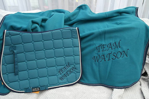 WEEK 7 - Saddle Pad and Show Rug