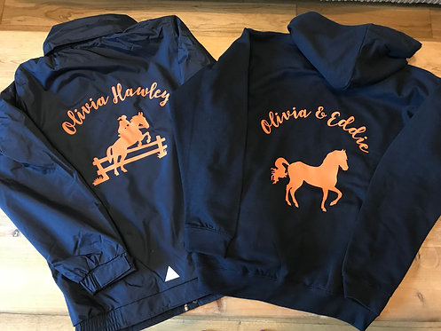 Children's Printed Hoody and Coat with FREE t-shirt