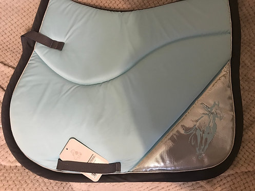 Turquoise saddle pad - full