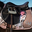 Thumbnail: Soft Powder Flower Saddle Pad