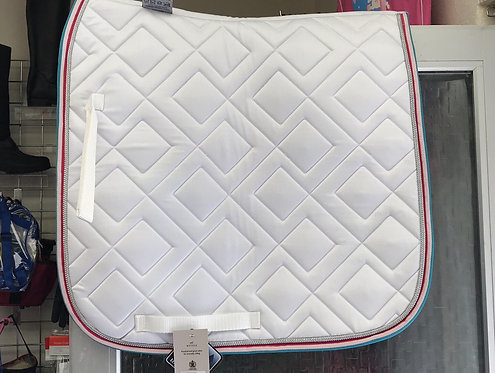 White dressage pad - cob/full