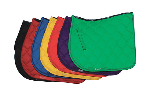 Diamond Quilted Saddle Pad