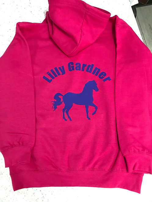 Printed Hoody - Childrens (Boxing Day Offer)