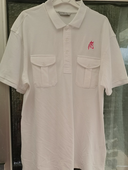 Large polo shirt