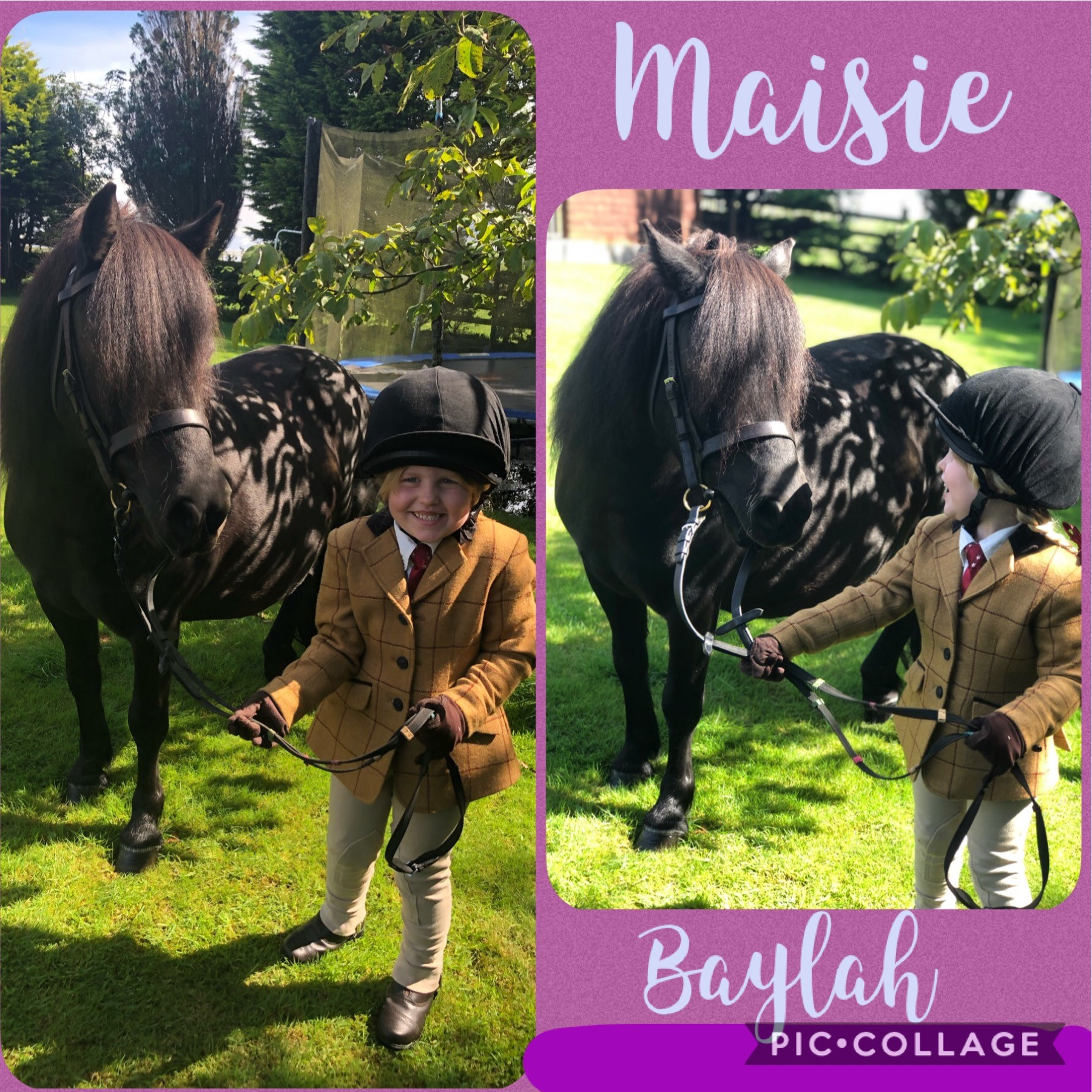 Maisie Kitto & Baylah - class 14